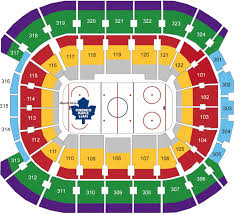 Maple Leafs Seating Chart Air Canada Center Seating Map