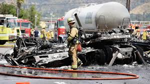 1 Dead, 10 Injured After Fiery Crash on 5 Freeway Near Griffith Park ...