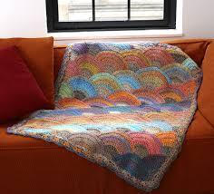 Sea Shell Afghan Crochet Pattern Unique Decorating Design