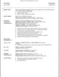 Sample New Grad Nursing Resume Graduate Nurse Resume Cover Letterles Practitioner Student Samples 71