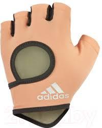 <b>Перчатки</b> для пауэрлифтинга <b>Adidas</b> ADGB-12633 (S, <b>Chalk Coral</b>)
