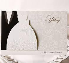 invitaciones de boda para imprimir novio y novia de estilo occidental ropa caliente personalizable