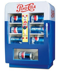 Small Pepsi Vending Machine Inspiration Vintagestyle Mini Pepsi Vending Machine RefrigeratorAmazon