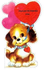 Carte De St Valentin Carte St Valentin En Français French Valentines Day Cards