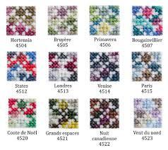 Dmc Coloris Color Chart