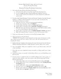 Resume Template Examples Sample Resume For College Students With No Job Experience. resume ...