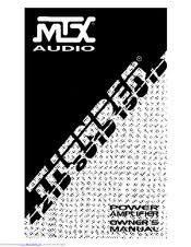 mtx thunder 1501d manuals MTX 1501D Strapped mtx thunder 1501d owner's manual