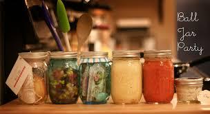 Ball Jar Decorations DIY French Mason Jar Gift for a ball jar party goutaste 58