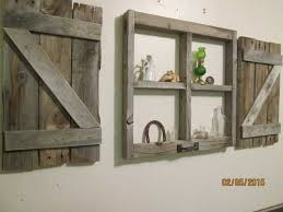 enjoyable window frame wall art little with shutters zoom arched antique wood faux old reclaimed picture