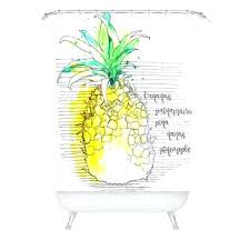 pineapple shower curtain deb pure pineapple shower curtain pineapple shower curtain big lots pineapple shower curtain