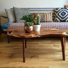 living room wooden furniture photos. mid century walnut live edge coffee table living room wooden furniture photos v