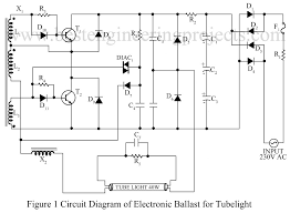 tube light connection diagram electronic choke tube electronic ballast for tube lights bestengineeringprojects com on tube light connection diagram electronic choke