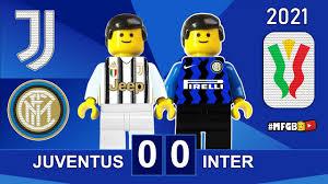 Juventus vs Inter 0-0 • Coppa Italia 2021 Lego • Gol e Sintesi Juve Inter •  All Goals Highlights - YouTube