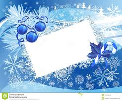 Blue Snowy Christmas Background Royalty Free Stock Images - Image ...