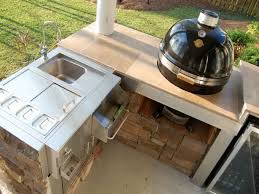 Outdoor Kitchen Countertops Outdoor Kitchen Countertop Ideas 07304020170514 Ponyiexnet