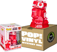R2d2 valentine's day plush for the true star wars fan, especially if you love r2d2, this is a must have for valentine's day. Funko Poplandia Mystery Box R2 D2 Valentines Day Pop Vinyl Figure Includes R2 D2 5 Mystery Pop Vinyl Figures By Funko Popcultcha