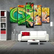 wall artwork decor dragon ball evolution wall art decor posters canvas prints diy 3d beach canvas