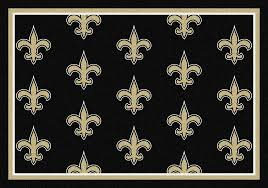 new orleans saints area rug nfl team repeat area rug