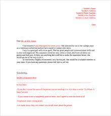 Sample Reference Letter Format Example Best Solutions Of How To