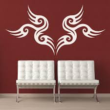 tribal symbol wall sticker decorative headboard wall decal bedroom home decor