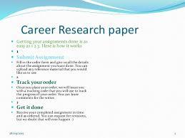 career research paper  research paper 2 career