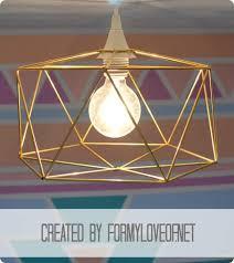 himmeli inspired geometric pendant