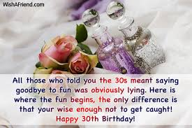 30th birthday wishes for him ~ 30th birthday wishes for him ~ Birthday wishes for thirty year old wishes greetings pictures