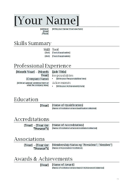 Creating A Resume In Word Stunning Decoration How To Build A Resume