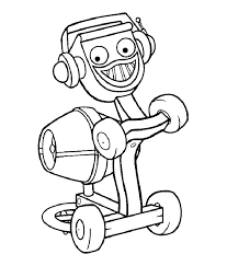 Small Picture Bob the Builder Coloring Pages 9 Free Printable Coloring Pages