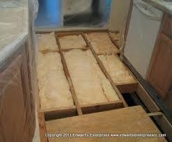 bathroom subfloor replacement. Subfloor Repair Mobile Home Sub Floor Insulation Moisture Barrier Removed Replaced Bathroom Cost Replacement