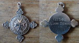 this medal belonged to mr william dewhurst no 17743 who was involved in our local branch of the st john ambulance for over 50
