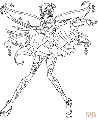 Winx Club Coloring Pages Inside Coloring Pages - itgod.me