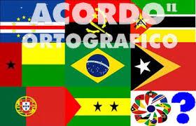Resultado de imagem para fotos ou imagens do Acordo Ortografico de 1990