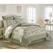 traditional comforter sets laura ashley avery cotton 4 piece set 8
