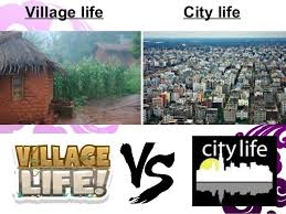 essay on city life v s village life words points   jpg