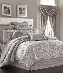 ... J Queen New York Babylon Damask Comforter Set Dillards Photo On Amazing  Bedding For Zi Silver ...