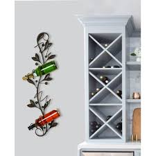 Wall wine racks Mounted Wombwell Bottle Wall Mounted Wine Rack Wayfair Find Wall Mounted Wine Racks For Your Kitchen Wayfair