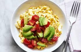 Resultado de imagem para eggs breakfast avocado