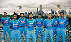 indian cricket team players height