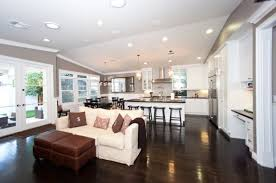Rooms Joining Together Living Room Dining Kitchen  Lentine Marine Open Concept Living Room Dining Room And Kitchen