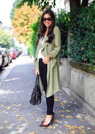 new fashion women casual loose long sleeve split hem irregular pocket solid trench coat