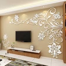 3d wall designs bedroom. Beautiful Bedroom Living Room Wall Decor 3D Acrylic Modern Bedroom Large Unique In 3d Designs L