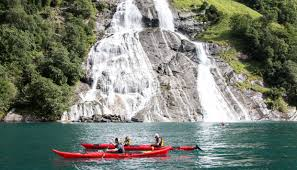 Seven Sisters Clothing Size Chart Guided Kayak Tour In Geiranger Seven Sister Waterfall