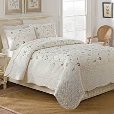 Quilts & Bedspreads For Less | Overstock.com & Maison Rouge Merrill Embroidered Quilt Set Adamdwight.com
