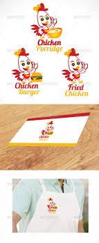 fast food restaurants logo chicken. Delighful Food Chicken Fastfood Logou0027s  Food Logo Templates In Fast Restaurants GraphicRiver