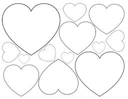 Small Picture Heart Shape Coloring Page Miakenasnet