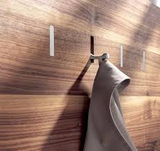 Cool Coat Racks Wall Interesting What A Cool Coat Rack I Love How The Hook Blends Into The Wood