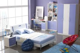 Perfect Teenage Bedroom Perfect Style Bedroom Design For Teenage With Blue Wall Paint