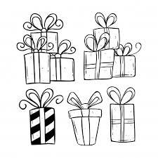 おしゃれアートや手描きスタイルを使った誕生日プレゼントセット