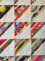 Best 25+ Strip quilts ideas on Pinterest | Strip quilt patterns ... & String pieced half square triangles - another great scrap quilt! So simple  yet cute and Adamdwight.com